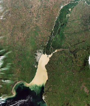 Satellite Eye: Buenos Aires, the coastal capital of Argentina