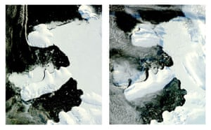 Satellite Eye: Antarctica's Wilkins Ice Shelf