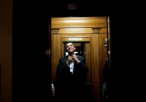 obama 100 days : President Barack Obama at  2 a.m.  after attending 10 inaugural balls
