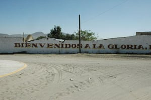 La Gloria village : La Gloria village where swine flu apparently originated