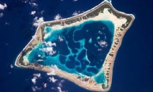 Satellite eye on Earth : Atafu Atoll