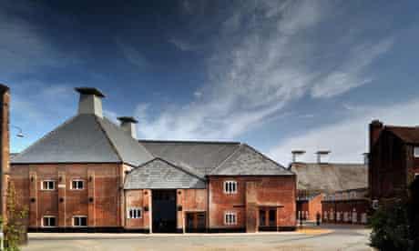 The new Britten studio at Snape Maltings, Suffolk