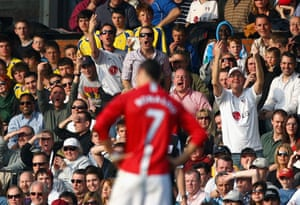 Cristiano Ronaldo: Ronaldo is jeered by Fulham fans at Craven Cottage