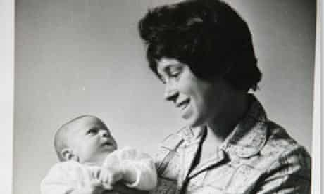 Jeremy Gavron with his mother