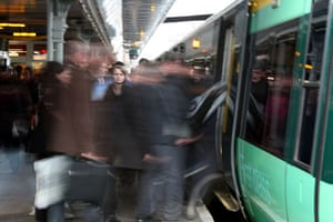In pictures: Commuting: Cass Elbourne
