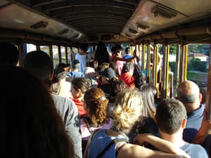 In pictures: Commuting: Kim Laidlaw