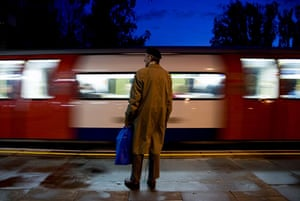 In pictures: Commuting: Tony Day