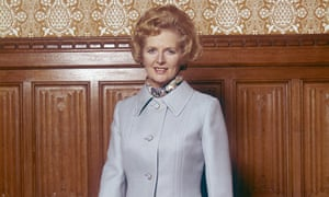 British politician Margaret Thatcher in 1970