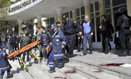 Azerbaijan college shooting