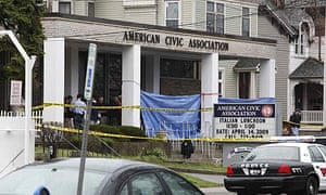 The immigrant counselling centre in Binghamton, New York, where a gunman killed 13 people