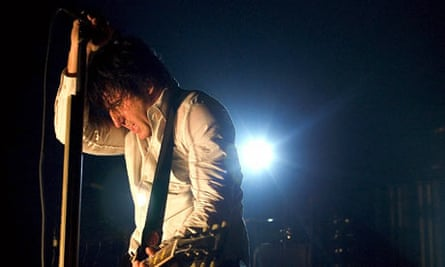 Trent Reznor of US rock group Nine Inch Nails
