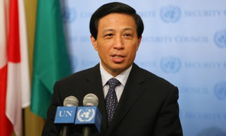 Zhang Yesui, China's ambassador to the United Nations
