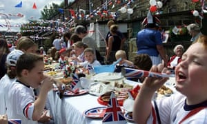 Street party Bingley, Queen's Golden Jubilee