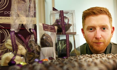 Paul A Young, chocolatier