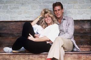 Farrah Fawcett: Ryan O'Neal And Farrah Fawcett, Deauville, France in 1984
