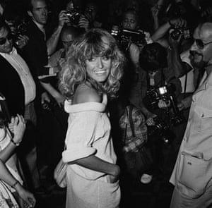 Farrah Fawcett: Farrah Fawcett at Cannes in 1978