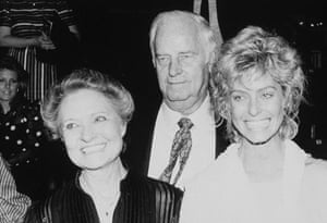 Farrah Fawcett: Farrah Fawcett and Parents - 1983