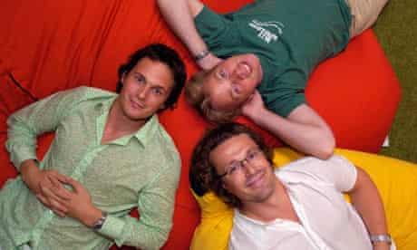 Richard Reed, Jon Wright and Adam Balon, co-founders of Innocent Drinks