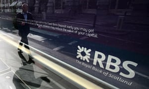 A Royal Bank of Scotland (RBS) branch in central London