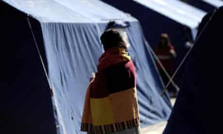 italy earthquake tents