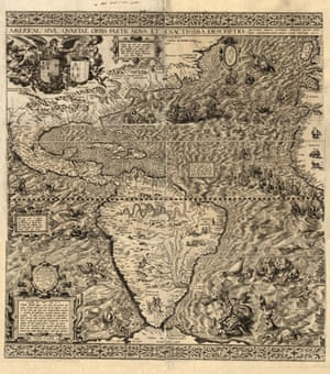 World Digital Library: 1562 map of the New World
