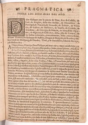 World Digital Library: Pragmatica sobre los diez dias del año, Lima, Peru, 1584