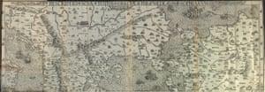 World Digital Library: Nikolaos Sophianos, Hellados perigraphe, 1545, first modern map of Greece