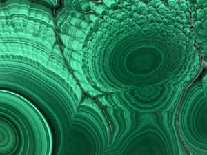 Mineral images: Malachite