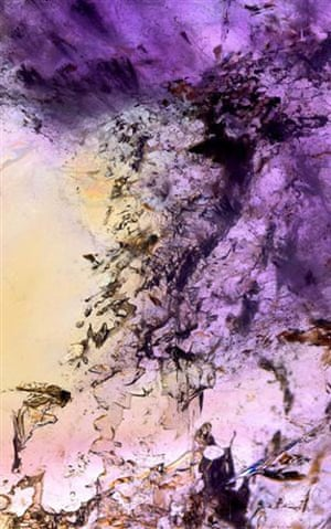 Mineral images: Rock formation art: amethyst