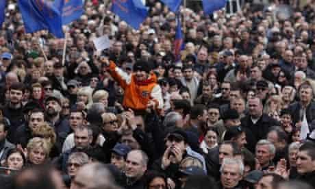 Georgia protests