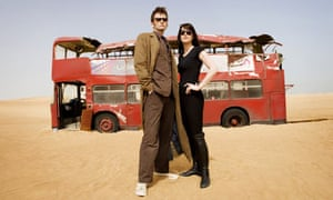 David Tennant and Michelle Ryan in Doctor Who: Planet of the Dead