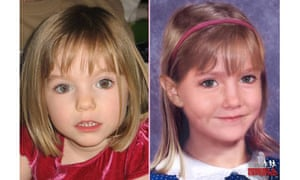 Missing Madeleine McCann as she may look now