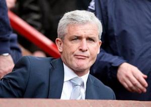 Man Utd v Man City: Mark Hughes