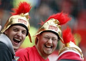 Man Utd v Man City: Man Utd fans
