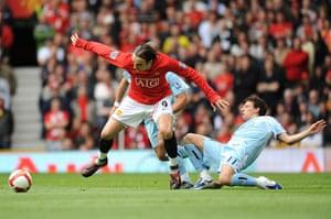 Man Utd v Man City: Dimitar Berbatov