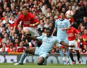 Man Utd v Man City: Cristiano Ronaldo