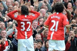 Man Utd v Man City: Carlos Tevez