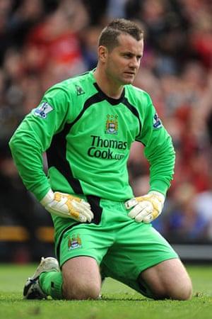 Man Utd v Man City: Shay Given