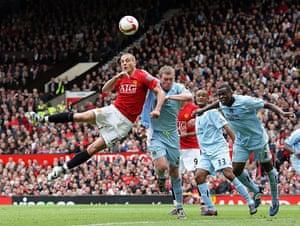 Man Utd v Man City: Nemanja Vidic