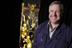Holy Well Glass: Steve Clare of Holy Well Glass