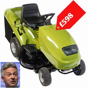 Tory allowances : Alan Duncan attempted to claim £598 for lawn mower repairs