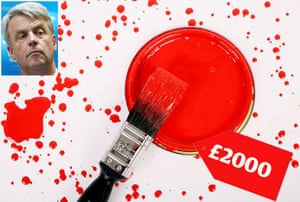 Tory allowances : Andrew Lansley attempted to claim £2000 of Farrow and Ball paint