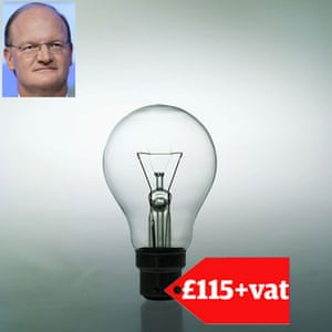 Tory allowances : David Willetts claimed back £115 for changing light bulbs