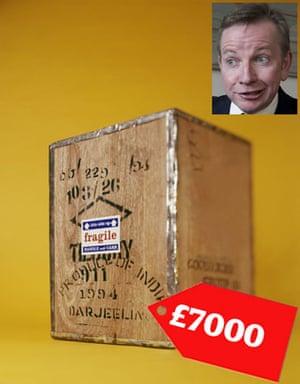 Tory allowances : Michael Gove spent £7000  on furninshings