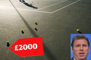 Tory allowances : Oliver Letwin claimed £2000 to have a pipe repaired under his tennis court