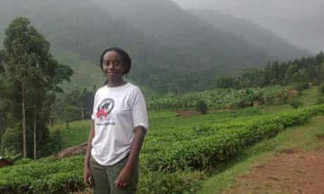 The 2009 Whitley Gold Award winner : Gladys Kalema-Zikusoka a vet from Uganda