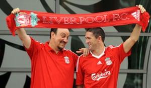 2008 09 Football Season Liverpool Manager Rafael Ben9tez