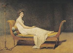 Madame Recamier: Portrait of Madame Recamier by Jacques-Louis David