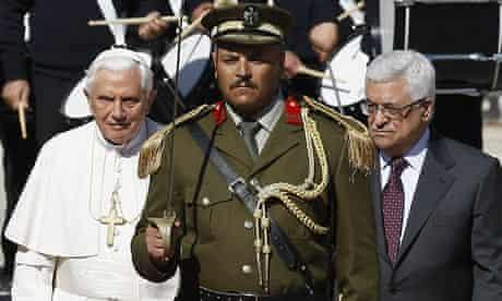 Pope in Bethlehem