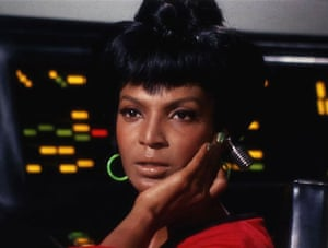 Star Trek technology: Nichelle Nichols as Uhura in the original series of Star Trek
